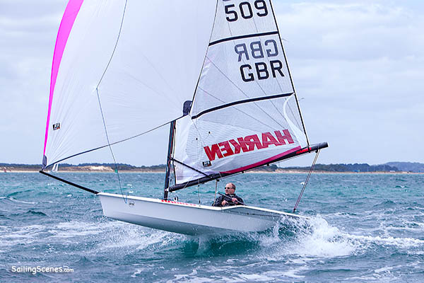 RS100 509 in the RS Southern Championships 2015